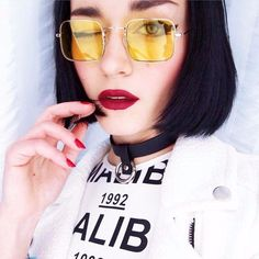 Happy Monday! We just got some #bold new accessories in stock! Check out these retro square #sunglasses, on sale now while supplies last! Be sure to take advantage of our 24/7 #freeshipping too!