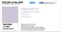APPart – Mobile Art – Pantone Color of the Day – 'Orchid Hush' – TheAppWhisperer
