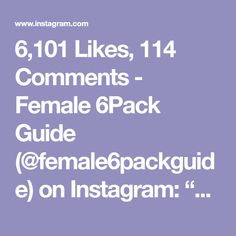 """6,101 Likes, 114 Comments - Female 6Pack Guide (@female6packguide) on Instagram: """"😱WOW 😱Challenge your friends with these core workouts ! Done by @alexia_clark 💕 Follow us on…"""""""