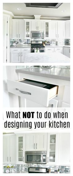 What NOT To Do When Designing Your Kitchen - Taryn Whiteaker
