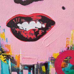 Fadiel Hermans: XOXO (Marilyn): pop art | StateoftheART