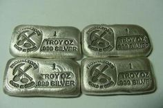 Candid Hand Poured Ingots Other Bullion