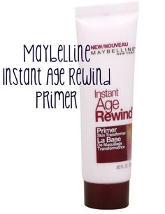 maybelline instant age rewind primer $8  Great budget primer that fills in lines/pores and has slight pink tint that adds a healthy glow