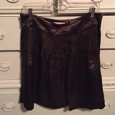 Brown Intuitions skirt size 8 Bundle 3 or more items and save an additional 15%.  Much more value to offset the shipping charges! Intuitions Skirts