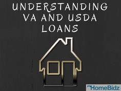 """""""Here are the Benefits of VA and USDA Loans"""" Many home seekers are not aware of the different types of mortgages that are available to them. There are several different programs that are available if you fall within a certain category. #Homebidz"""