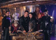 Farscape. If you can get around the extensive use of muppets, it's a fantastic show.