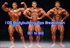 100 Bodybuilding Tips Breakdown (81 To 90) - *People are misguided into believing that they can sculpt their tummy by doing  a thousand crunches a day.