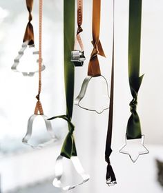 DIY for next holiday season. Cookie cutters as ornaments fashion-beauty