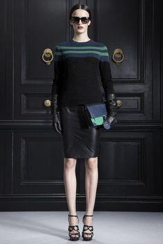 Jason Wu Pre-Fall 2012  Leather skirt!