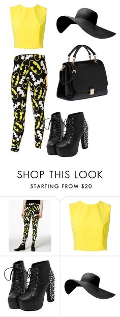 """""""Untitled #30"""" by synne-t ❤ liked on Polyvore featuring Bioworld, Alice + Olivia and Miu Miu"""