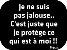 Je ne suis pas jalouse.. Words Quotes, Me Quotes, Funny Quotes, Sayings, Quote Citation, French Quotes, Live Love, Proverbs, Cool Words