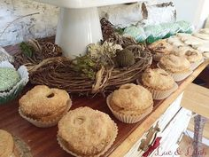 Mini Poisoned Apple Pies from a Snow White Enchanted Forest Birthday Party via Kara's Party Ideas KarasPartyIdeas.com (8)