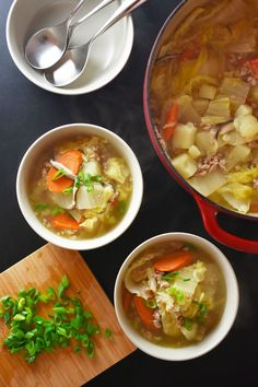Pork and Napa Cabbage Soup by Michelle Tam https://nomnompaleo.com