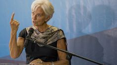 Lagarde Says Fed Must Be Sure of Jobs and Prices Before Moving.