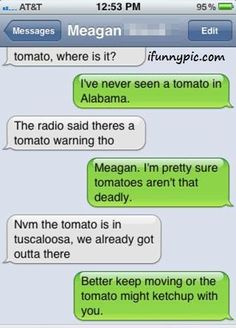 Tornado.//  I found this while looking for weather teaching ideas....  HA!!!  I needed that laugh right now!!!