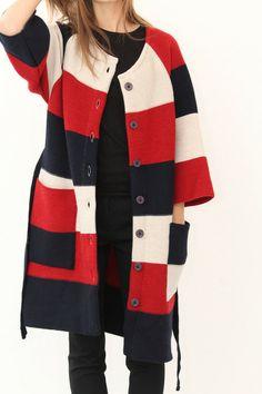Knit Oversized Coat by IvanaHelsinki -- I should really live somewhere cold.