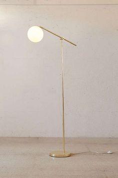 love this globe floor lamp