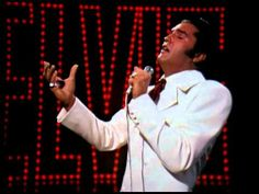"""▶ Elvis' """"If I Can Dream"""" - YouTube"""