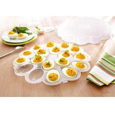 Podnos na vejce s poklopem | Magnet 3Pagen #magnet3pagen #magnet3pagen_cz #magnet3pagencz #3pagen #decoration Eggs, Breakfast, Tableware, Kitchen, Food, Morning Coffee, Dinnerware, Cooking, Tablewares