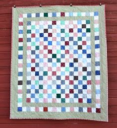 Sew in Peace: Postage Stamp Quilt Tutorial