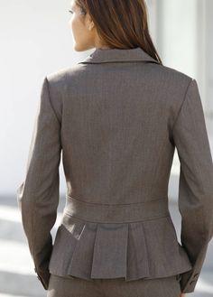 #cute #brown #blazer #bonprix