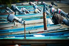 Fishing boats in Zihuatanejo