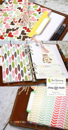 How to make filofax dividers #filofax #planner #oragnization #dividers