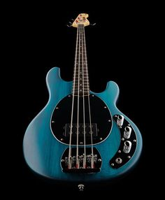 Sterling by Music Man SUB Ray 4, bass guitar, 4 string, colour: transparent blue satin #thomann #musicman #guitar