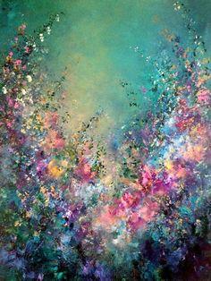 Jaanika Talts – Estonian artist – Estonia and Dublin, Ireland – Best Painting Acrylic Art, Acrylic Painting Flowers, Painting Art, Acrylic Painting Inspiration, Abstract Flowers, Hope Painting, Dream Painting, Painting Lessons, Art Inspo