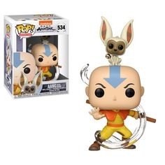 Anime: Avatar: The Last Airbender Aang with Momo Pop! Anime: Avatar: The Last Airbender Aang with Momo Pop! Avatar Aang, Momo Avatar, Avatar The Last Airbender, Funko Pop Dolls, Figurines Funko Pop, Funko Toys, Pop Vinyl Figures, Anime Pop Figures, Funko Pop Anime