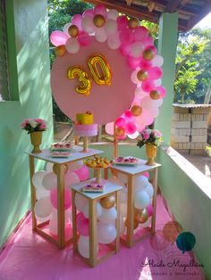 Peppa Pig Birthday Decorations, Balloon Crafts, 18th Birthday Party, Pink Parties, Baby Boy Shower, Event Decor, Photo Booth, Party Time, Backdrops
