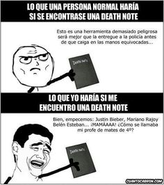 Collection of memes death note that marked history, I (͡ ° ͜ʖ ͡ °) Tops Best and Worst cosplay d . Justin Bieber, Best Memes, Funny Memes, Death Note Cosplay, Yuno Gasai, Otaku Meme, Spanish Memes, Cartoon Network Adventure Time, I Love Anime