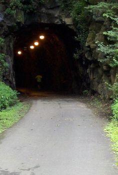 Lynchburg Va bike path on blackwater Creek