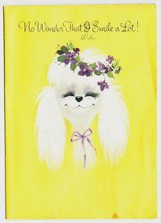 Poodle Card by Redlandspoodles.com
