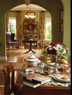 Jane Austen Holiday Tea. What a wonderful idea!