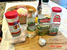 Columbia Restaurant's Salad – Can't Stay Out of the Kitchen Hcg Recipes, Candy Recipes, Salad Recipes, Cooking Recipes, Healthy Recipes, 1905 Salad Recipe, Columbia Restaurant, Best Salad Dressing, B Recipe