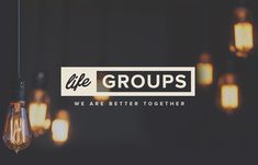 Life Groups are the best way to get connected! Stop by our lobby this Sunday to see what groups are available! Or visit lifechangerschurch.com/lifegroups