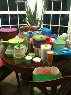 My Tupperware Collection*