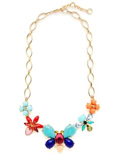 Butterfly Station Necklace by Pixie Grey at Gilt