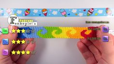 #7. Multi-Coloured Alpha Friendship Bracelet - In Russian, but with English subtitles.  Assumes you know how to make the knots already, so not for total beginners.