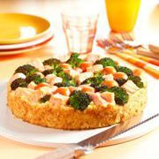 Hartige taart met zalm en broccoli (broodtaart) - recept - okoko recepten