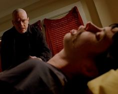 Breaking Bad has had its share of shocking, explosive (literally) deaths: Gus Fring, Mike Ehrmantraut, that kid on the bike. But the most powerful death was, in fact, the softest: when Walt watched as Jesse's heroin-induced girlfriend Jane choked to death on her own vomit, we knew that not only was she gone for good, but so was the Walt we once knew. [AMC]