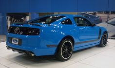 2014 Mustang GT Grabber Blue