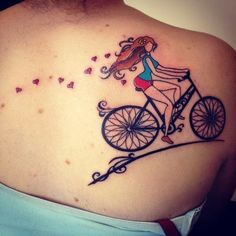 Bicycle on the Back Tattoo Ideas 8531 Santa Monica Blvd West Hollywood, CA 90069 - Call or stop by anytime. UPDATE: Now ANYONE can call our Drug and Drama Helpline Free at 310-855-9168.