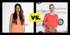 Who Wore It Better? Melon Tones At Cannes: Shailene Woodley VS. Jessica Chastain. See full looks here: http://buzznet.com/~653c500