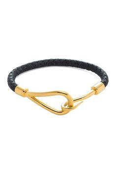 Hermes Leather Jumbo Bracelet by Estate Jewelry Event on @HauteLook