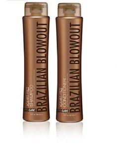 4.Brazilian Blowout Anti-Frizz Shampoo & Conditioner