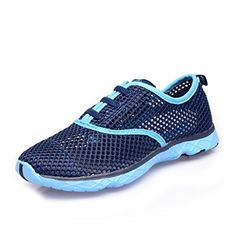 11d88b0df64c Suokeni Womens Seaside Aqua Water Shoes Blue 75 DM US    Check this awesome  product