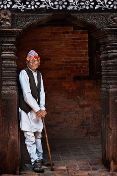 Portaits | Mitchell Kanashkevich   Happy Nepalese man