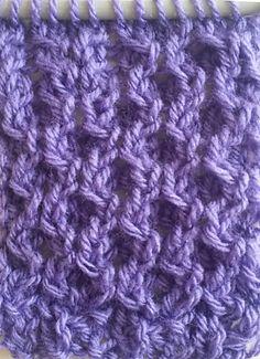 Ravelry: Stitches Dutch Honeycomb pattern by Jen Giezen